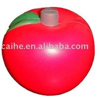 stress ball apple shape