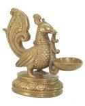 Brass Swan Lamp