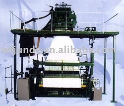 Jacquard flexible rapier towel loom