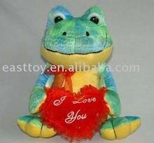 plush valentine frog
