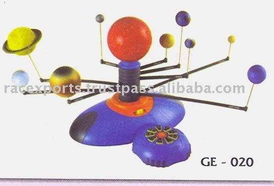Механическая модель солнечной системы своими руками