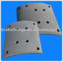 oil brake lining, bus brake liner, truck brake lining, heavy duty brake lining