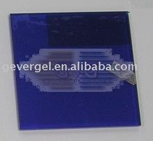 Blue Laminated glass craft