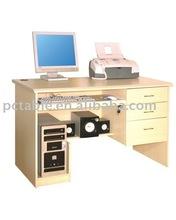 OT-06 office desk [office desk manufacturer]hot selling melamine board simple office desk with drawers