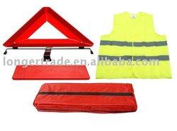 Road safety kit,hi vi vest,safety kit