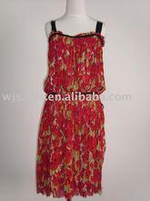 silk dress/silk garment/silk ladies' dress