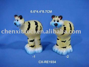 ceramic animal shape pepper shaker-dolomite salt shaker-porcelain cruet