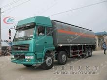 HOWO 8*4 chemical liquid truck