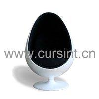 Egg Ball Chair, Pod chair, fiberglass chair