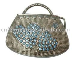 Bag shape Fashion buckle with Rhinestones for Women