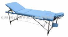 best adjustable portable 3 section foldable massage bed