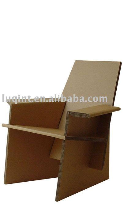 Silla de papel muebles de papel muebles de los ni os - Muebles de papel ...