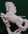 Pulido de caballo, tallas de jardín productos, la escultura de piedra