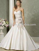 2012 fashion dress,for wedding sweetheart satin