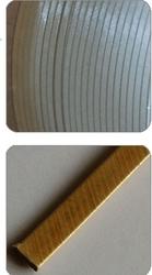 Varnish bonded fiberglass covered conductors.