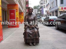 bronze ancient figure sculpture