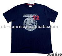 Men knitwear-short sleeve print tee shirt