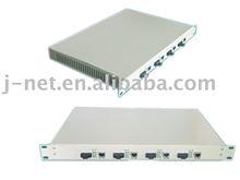 fiber optical transmitter rack mount 1U
