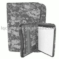 ACU Camo zippered pad folio(bag,briefcase,military bag)
