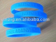 silicone bracelet/promotional gift