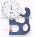 medidores de espesor dial