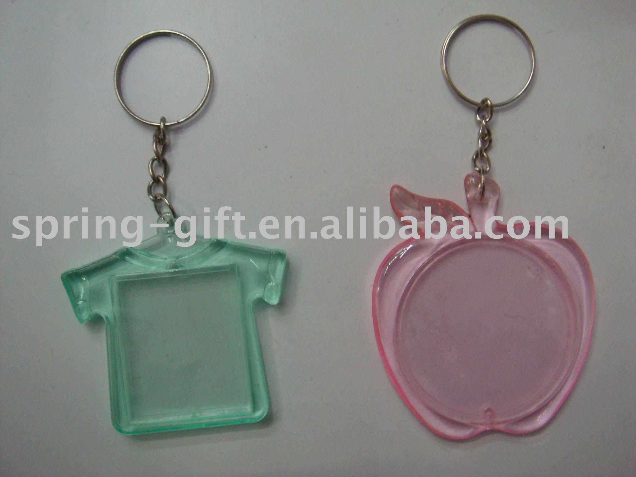 Blank Acrylic photo Key chain