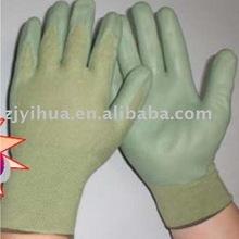 bamboo coated nitrile working glove