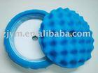 "9"" blue velcro sponge buffing pad"