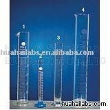 Química, suministro de laboratorio, artículos de vidrio, la medición de cilindros, química,