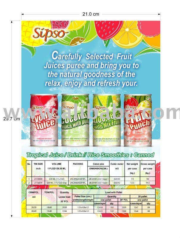 Tropical Fruit Juice & Drink