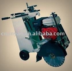 Asphalt road cutter
