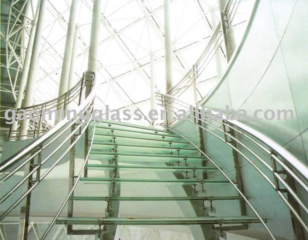Glass Stair Treads Photo Detailed About Laminated Glass Stair Treads