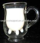 double wall milk mug (E0521)