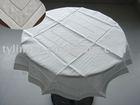 Hemstitch fabric applique Tablecloth