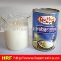 crema conservada 400ml del coco para el helado o bebida o el cocinar