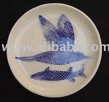 Bird and fish plate