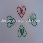 corlored paper clips