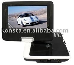 "7"" mini--portable dvd player with DVB-T/ISDB"
