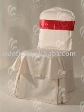 Chair Cover,Folding Chair Cover,Organza sash (SDF-CC014)