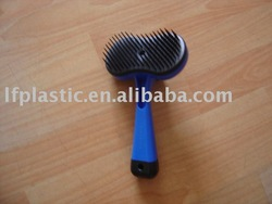 pet hair grooming brush/dog hair brush
