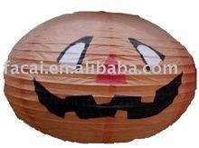 paper garland (pumpkin shape)