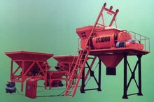 concrete mixer+PLD batching machinery