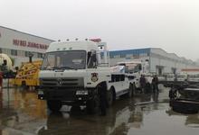 tow truck, tractor truck, wrecker truck
