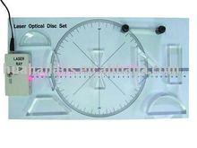 Equipos de laboratorio de la lente, de fibra óptica, experimento óptico