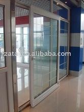 Large pvc sliding doors sample,pvc partition sliding doors,double glazed pvc sliding doors