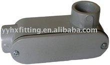 Aluminum rigid conduit bodies LR