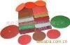 Non-woven abrasive paper sheet