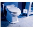 Magnum Opus gravity discharge toilet