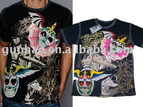 See larger image: Tattoo Men's T-shirt,Mens T-shirt,Fashion T-shirt,Cotton T-shirt,Mens Top,Mens Tees,Summer Wear~~HOT Sale!!! Add to My Favorites