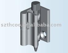 Cabinet door hinge lock